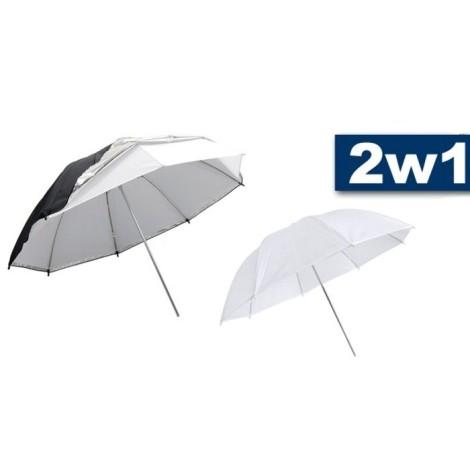 Parasolka 2w1 odbijająco-rozpraszająca 110cm