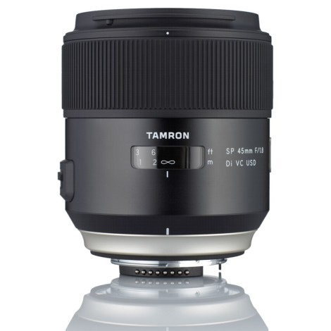 Tamron SP  45mm f/1.8 Di VC USD / Canon