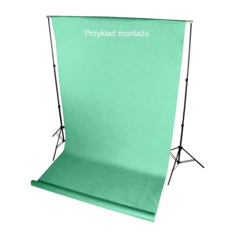 Tło fotograficzne na tulejce 1.6 x 5m Zielone