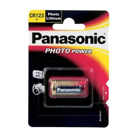 Bateria CR123 3V Panasonic